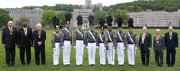 2017 West Point Distinguished Graduate Awardees