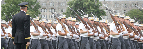 West Point A-Day Parade