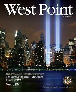 West Point Magazine Spring 2018 Cover