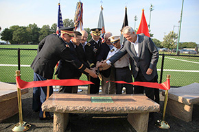 Daly Field Rededicated