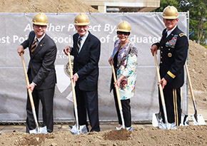 West Point Visitor Center Ground Breaking 9-9-2016