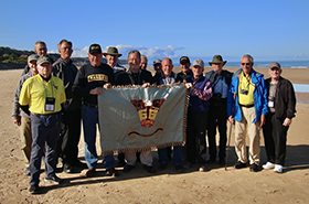 USMA 1966 Visits WWII Landmarks including Normandy Beaches