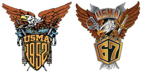 1952 and 1967 West Point Crest