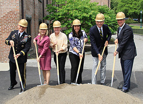 Anderson Athletic Center Groundbreaking