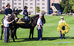 Buffalo Soldier Wreath Laying Ceremony