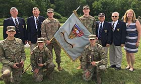 CFT and 2020 Flag Presentation from 1970 Affiliate Class