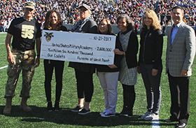 West Point Parents Support Margin of Excellence