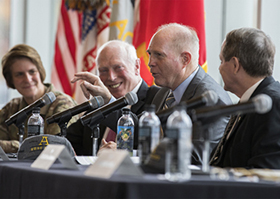 Five Former Superintendents Return to West Point