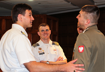 Cadets Host Foreign Academy Cadets