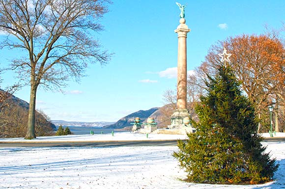 West Point in the Winter
