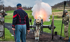 Historic Weapons Shoot at West Point