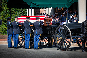 CPT Rufus Hyman Funeral