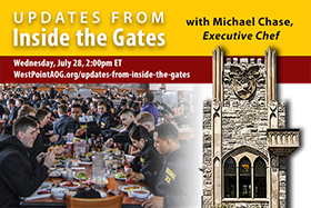 Updates from Inside the Gates with Chef Chase