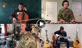 "West Point Band & Cadets Cover ""Let it Be"""