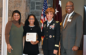 West Point Minority Visitation Program with LTG Nadja West '82