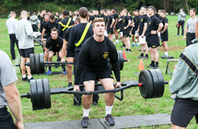 USMA Pilots New Army Combat Fitness Test