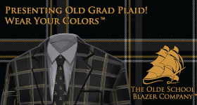 Old Grad Plaid is Now Official!