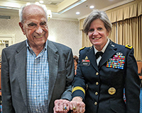 Oldest Grad Receives Newest Class Ring