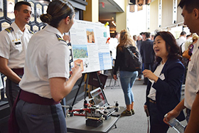 Projects Day 2019 Showcases Cadet Achievement