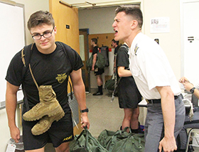 West Point Class of 2022 R-day