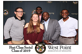 West Point First Social Cadets Class of 2019