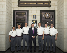 Coach K Speaks to West Point Cadets