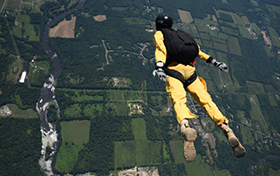 West Point Parachute Team: Spirit from 13,000 Feet
