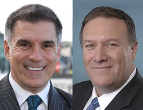 Vincent Viola '77, Mike Pompeo '86