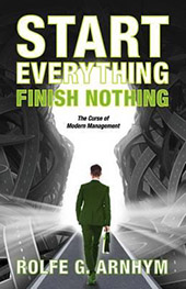 New Book from Arnhym '53 - Start Everything Finish Nothing