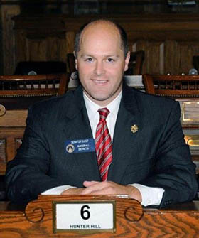 Hill '00 Named Chair of the Senate VMHS Committee