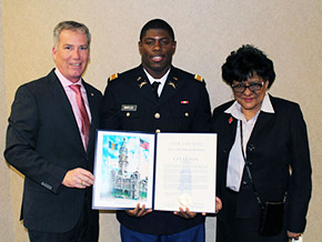 Maples '14 is Saluted by City Council