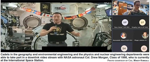 Download Link Video Stream with NASA Astronaut Col. Drew Morgan