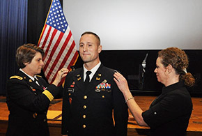 Benson '94 Promoted to Colonel