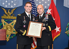 Mennes '88 Promoted to Major General