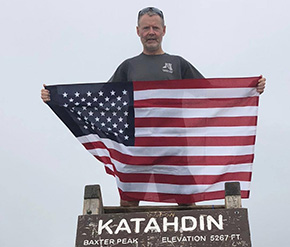 COL Fallin '88 Hikes the Appalachian Trail for Johnny Mac