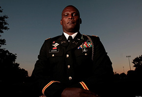 West Point graduate Greg Gadson '89