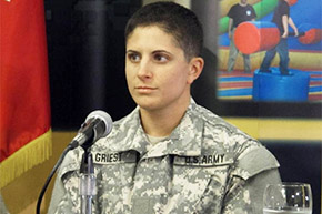 Griest '11 Army's First Female Infantry Officer Assigned to Fort Benning