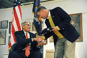 Johnson '55 Honored for Community Service, Veterans Advocacy