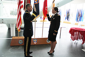 Noack '15 Commissioned to 2LT After Medical Delay