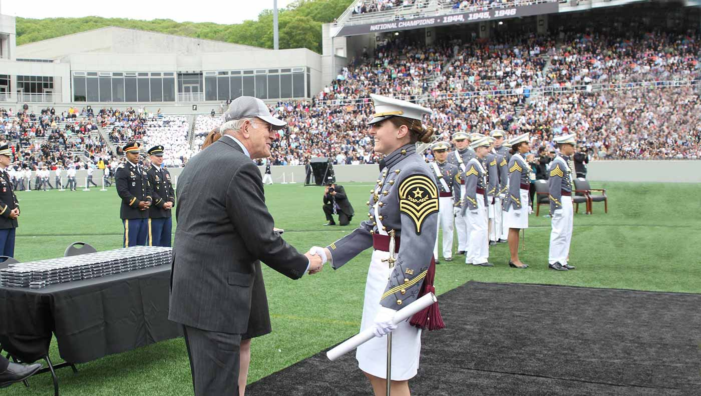 West Point Class of 1966 Supplies Bars for 2016 Graduation