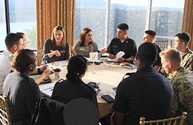 WPAOG Hosts Cadet Class Officer Orientation