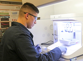 Cadets Research Bioprinting to Improve Future Soldier Care