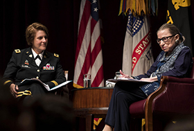 Justice Ruth Bader Ginsburg Speaks at 3rd Annual Zengerle Lecture