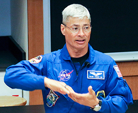 Astronaut & Former USMA Physics Professor Speaks to Cadets