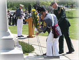 DGA Wreath Laying