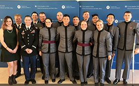 Cadet Cyber Policy Team Takes 2nd in Cyber 9/12 Competition