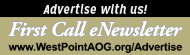 Advertise in the First Call eNewsletter