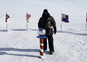 CDT William Merrill '19 Visits South Pole