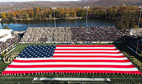 West Point Michie Stadium Flag