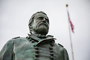 USMA Unveils General Grant Bronze Sculpture